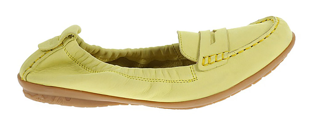 Hush Puppies Katherine Ceil Light Yellow Nubuck Loafers & Moccasins Womens Flats Size 9.5 New by Hush Puppies