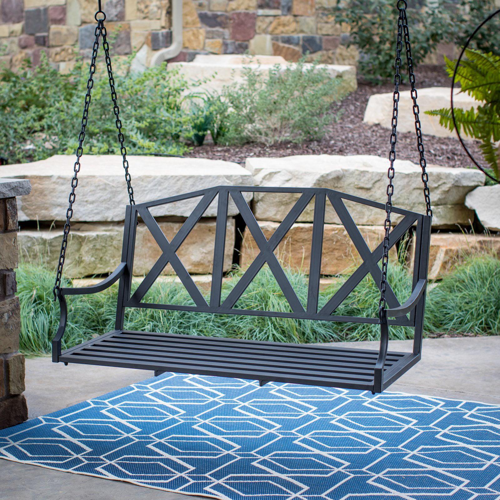 Belham Living Lawson X-Back Porch Swing by