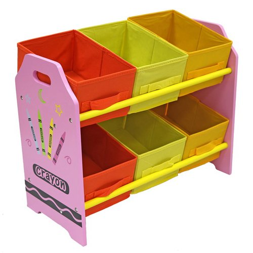 Zoomie Kids Elston 6 Box Toy Organizer