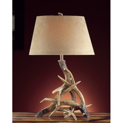 Crestview Collection Lodge Deer Shed 31'' H Table Lamp with Empire Shade