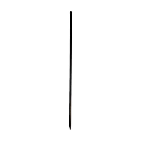 Fiberglass Ground Mount for Free-Standing Poles, Fiberglass with irremovable vinyl endcap By In the Breeze