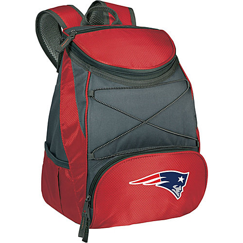NFL Backpack Cooler by Picnic Time - PTX, New England Patriots - Red