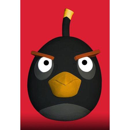 Angry Birds� Black Bird Latex Mask by Paper Magic Group 6651149](Latex Bird Mask)