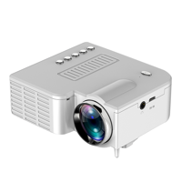 UC28C Portable High Definition 1080P Projector 1920*1080 Resolution Household LCD Projector 10-60 Inch Adjustable