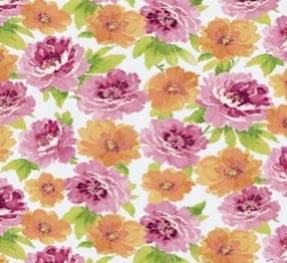 """Berkshire Home Polyester 54"""" Indoor/Outdoor Watercolor Garden Fabric, per Yard"""