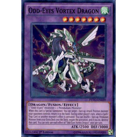 YuGiOh Pendulum Evolution Odd-Eyes Vortex Dragon