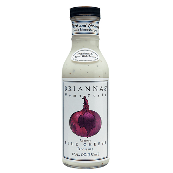 Brianna's Dressing True Blue Cheese 12 Oz - Pack of 6