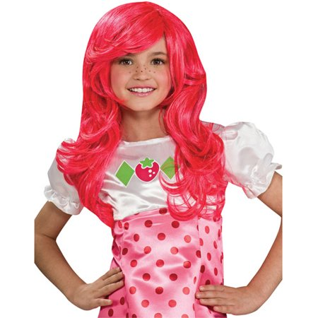 Strawberry Shortcake Children's Halloween Wig - Children's Halloween Music List