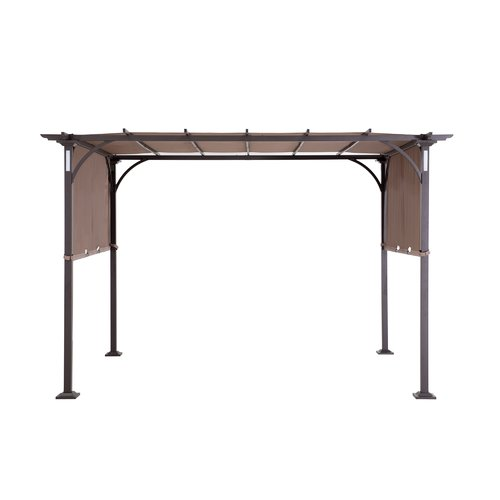 17*6.5 Feet Anti UV Protective Patio Pergola Canopy Replacement Cover Outdoor Garden Yard Sun Shelter Beach Tent by SunNest Service LLC
