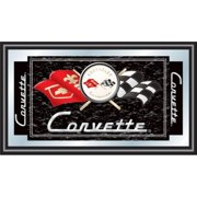 Trademark Gameroom Black Corvette C1 Framed Mirror