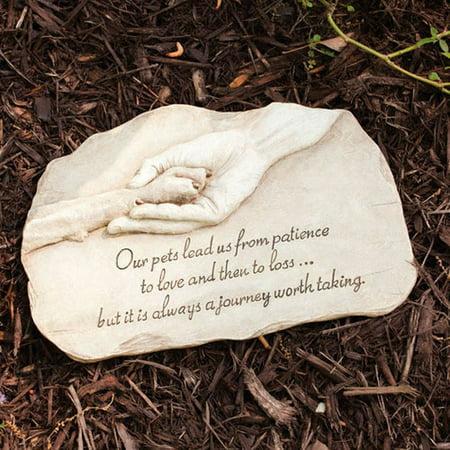 Evergreen Flag & Garden Pet Devotion Garden Stepping Stone