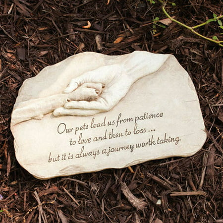 Evergreen Flag & Garden Pet Devotion Garden Stepping Stone