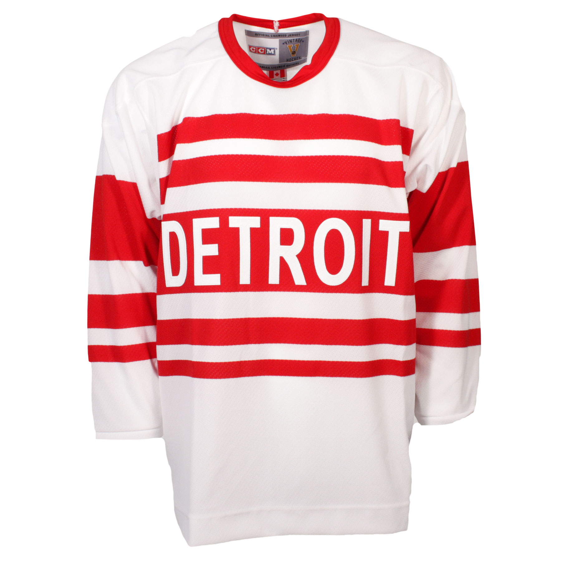 detailed look e0ef0 d7cd2 Red Vintage Jersey Wings Detroit agriculture.cliqnaija.com