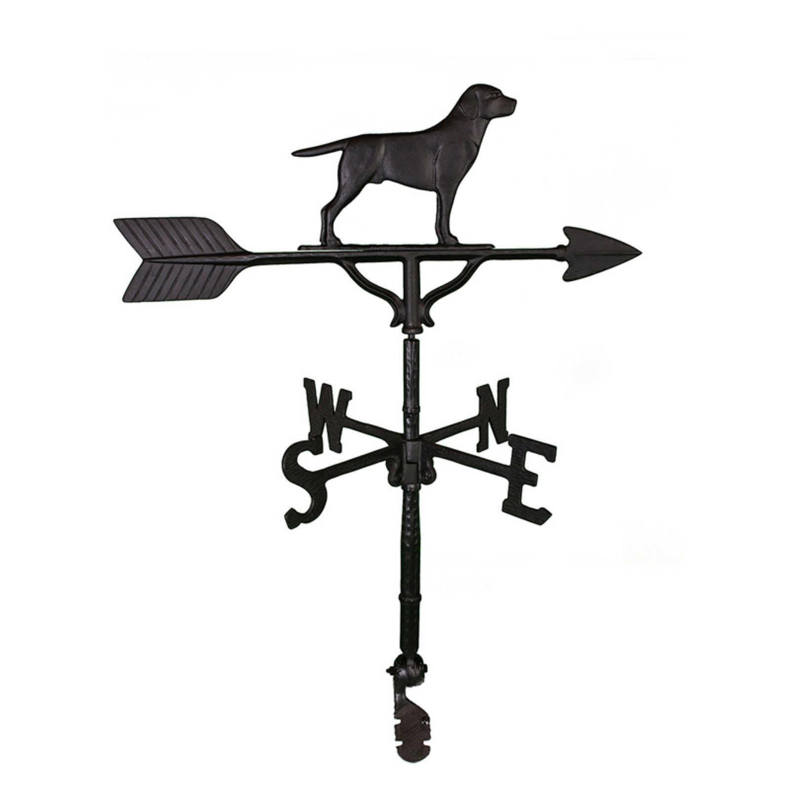 Black Lab Weathervane 32 in. by Montague Metal Products