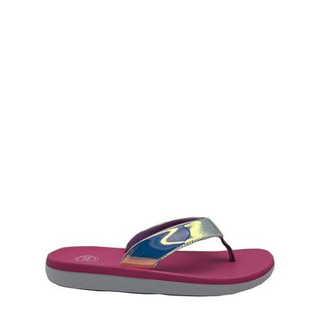 Wonder Nation Beach Sport Thong Sandal (Little Girls & Big Girls)