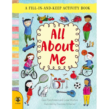 All About Me : A Fill-in-and-Keep Activity - All About Me Math