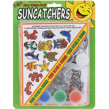 Suncatcher Group Activity Kit  Ocean  12 Pkg
