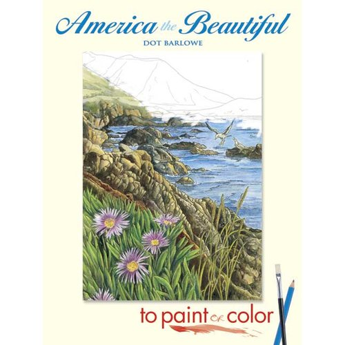 America the Beautiful to Paint or Color