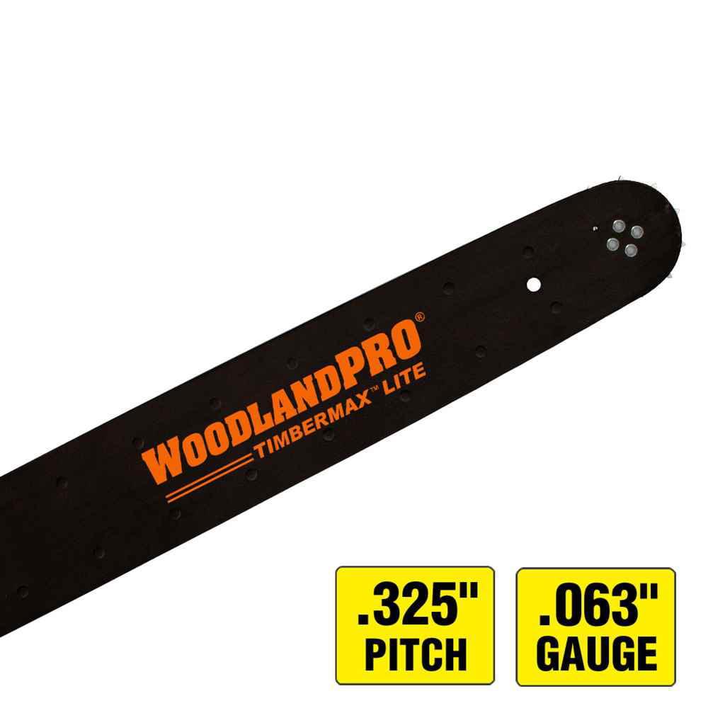 WoodlandPRO TimberMAX Lite Chainsaw Bar