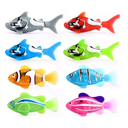 Zuru Robo Fish Lifelike Robotic Fish Water Activated One Random