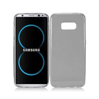 Samsung Galaxy S8 Frosted TPU CANDY Gel Flexi Skin Cover +Screen Guard