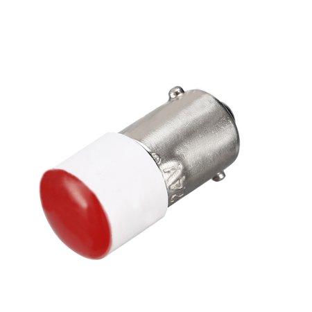 LED Bulbs 24V, Dashboard Light Red, BA9s Base Bulb 3Pcs - image 1 of 4