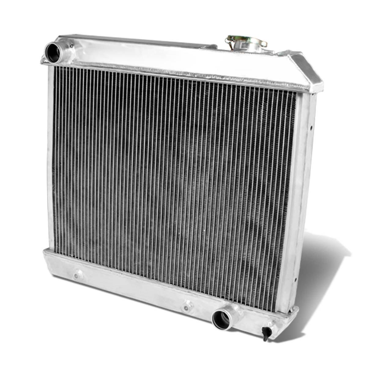 For 63-66 Chevy C/K Pickup Full Aluminum 3-Row Racing Radiator - 1 Gen 64 65