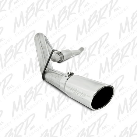 MBRP 11-13 Ford F-250/350/450 6.2L V8 Gas 4in Cat Back Single Side Alum Exhaust System