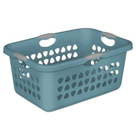 Sterilite 2 BU Ultra laundry Basket, Cool Water