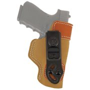 DESANTIS GUNHIDE SOF-TUCK RH HK FULL SIZE 9MM/40CAL SADDLE LEATHER/SUEDE TAN