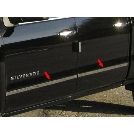 Fits 2014-2016  CHEVROLET SILVERADO Crew Cab, Short Bed, NO Molding (1.5