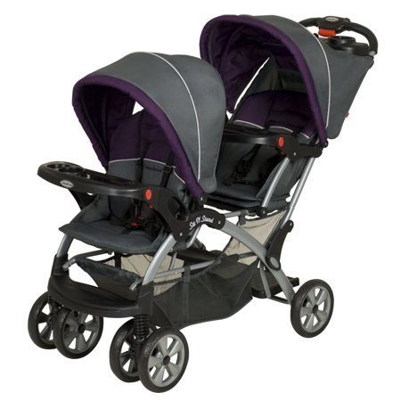 Baby Trend Sit N Stand Double Multiple Child Stroller - Elixer | (Sit N Stand Plus Double Stroller Manual)