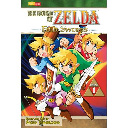 Zelda Four Swords (The Legend of Zelda, Vol. 6 : Four Swords - Part 1 )
