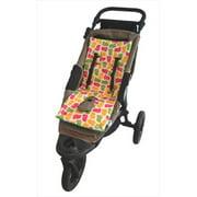Tivoli Couture MFSL 1102 Luxury Memory Foam Stroller Liner, Hippo - green