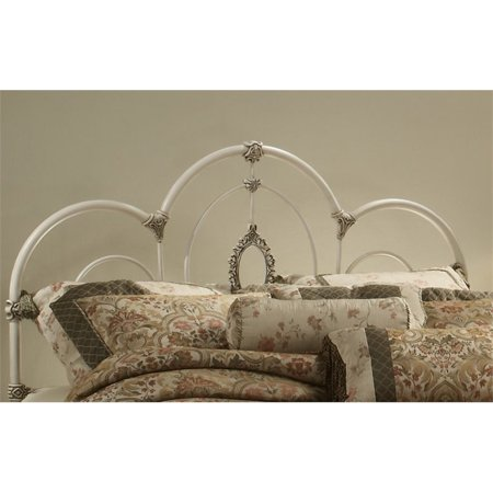 Hillsdale Victoria Twin Spindle Headboard in Antique White ()