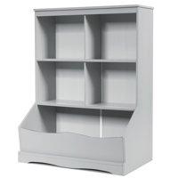 Costway 3-Tier Children's Multi-Functional Bookcase Toy Storage
