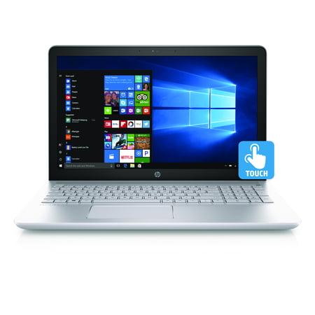 Hp Silver Iridium Ci7 15 Cc060wm 15 6  Laptop  Touchscreen  Windows 10 Home  Intel Core I7 7500U Processor  12Gb Memory  1Tb Hard Drive