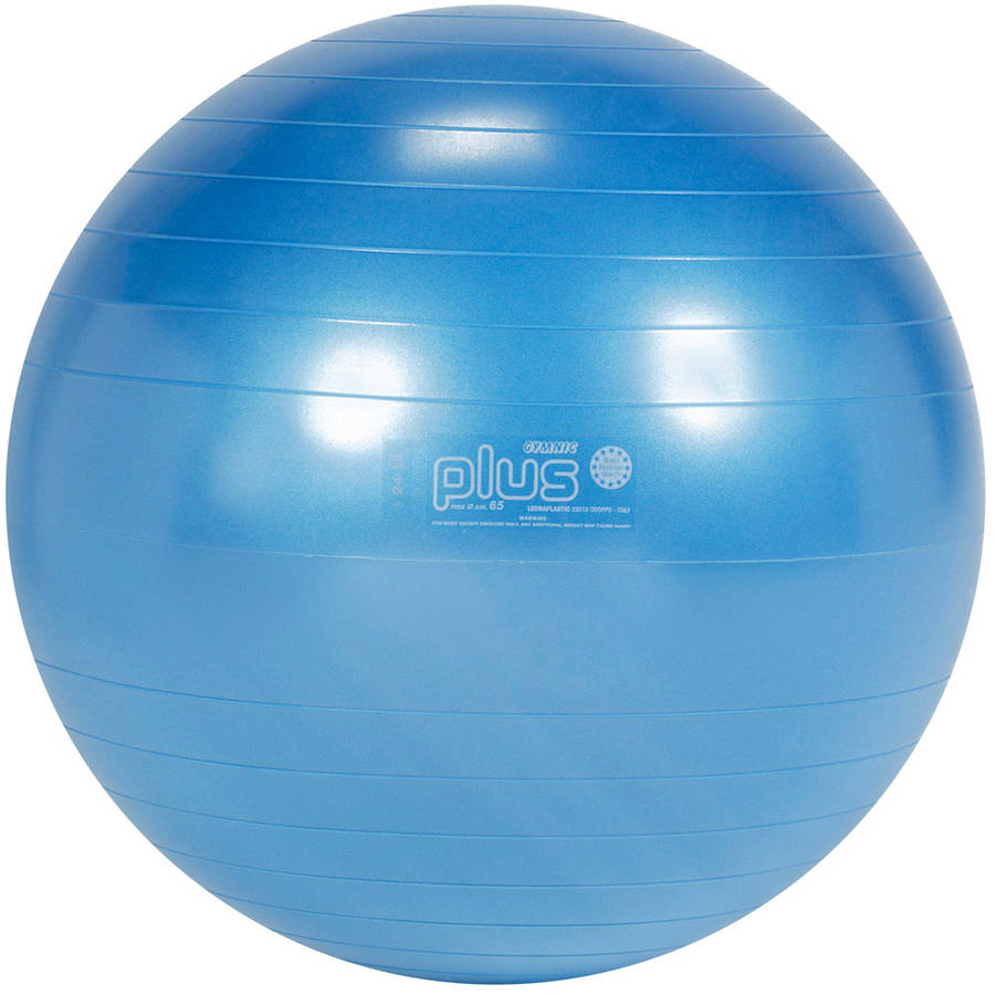 "Gymnic Classic Plus Exercise Ball, 65cm - 26"" Blue"