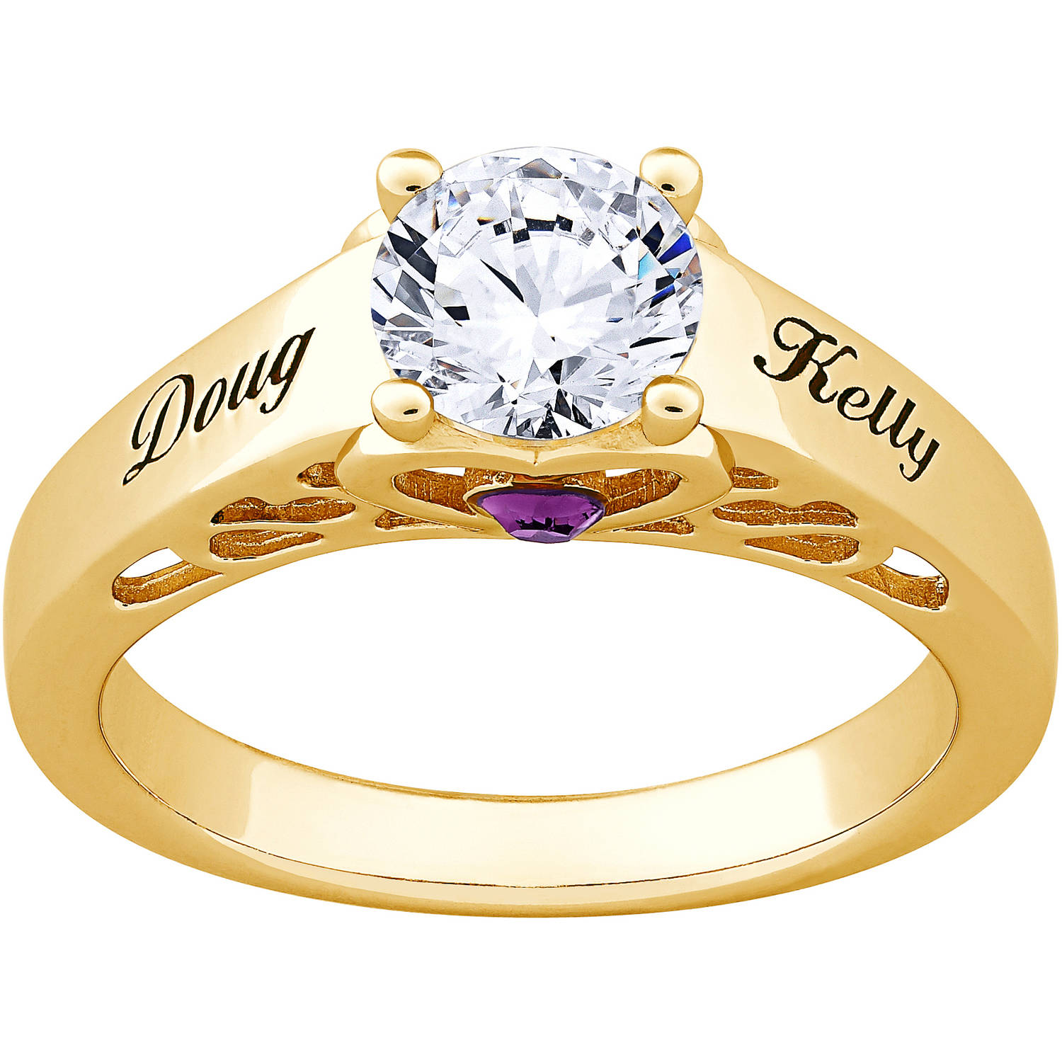 personalized gold sterling silver s name
