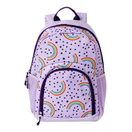 Wonder Nation Rainbow Stars Backpack