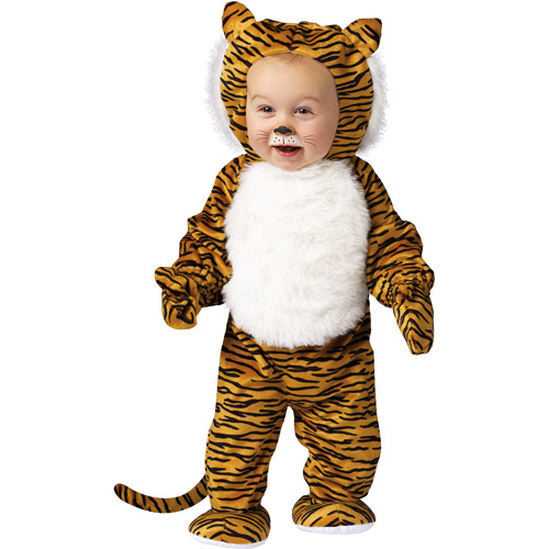 Cuddly Tiger Infant Halloween Costume