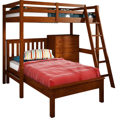 Donco Kids Donco Kids Twin L-Shaped Bunk Bed