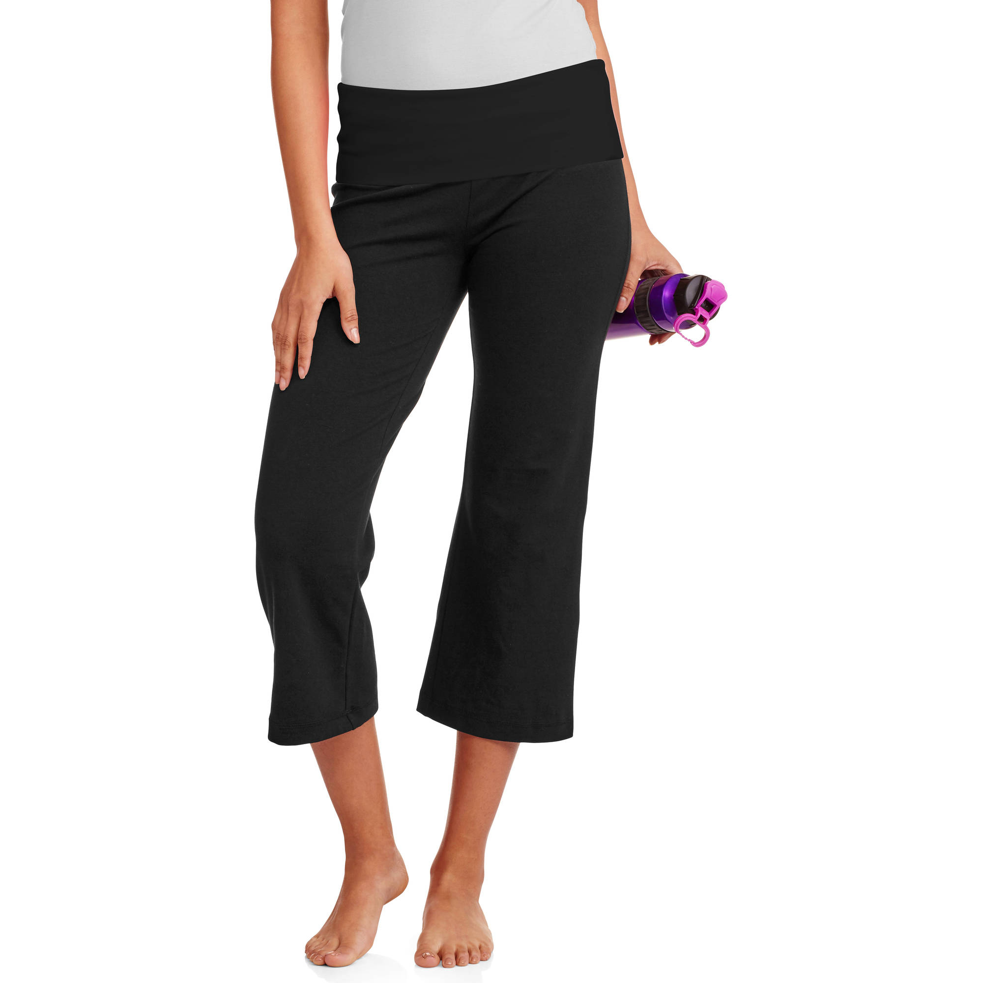 No Boundaries Juniors' Capri Yoga Pants - Walmart.com