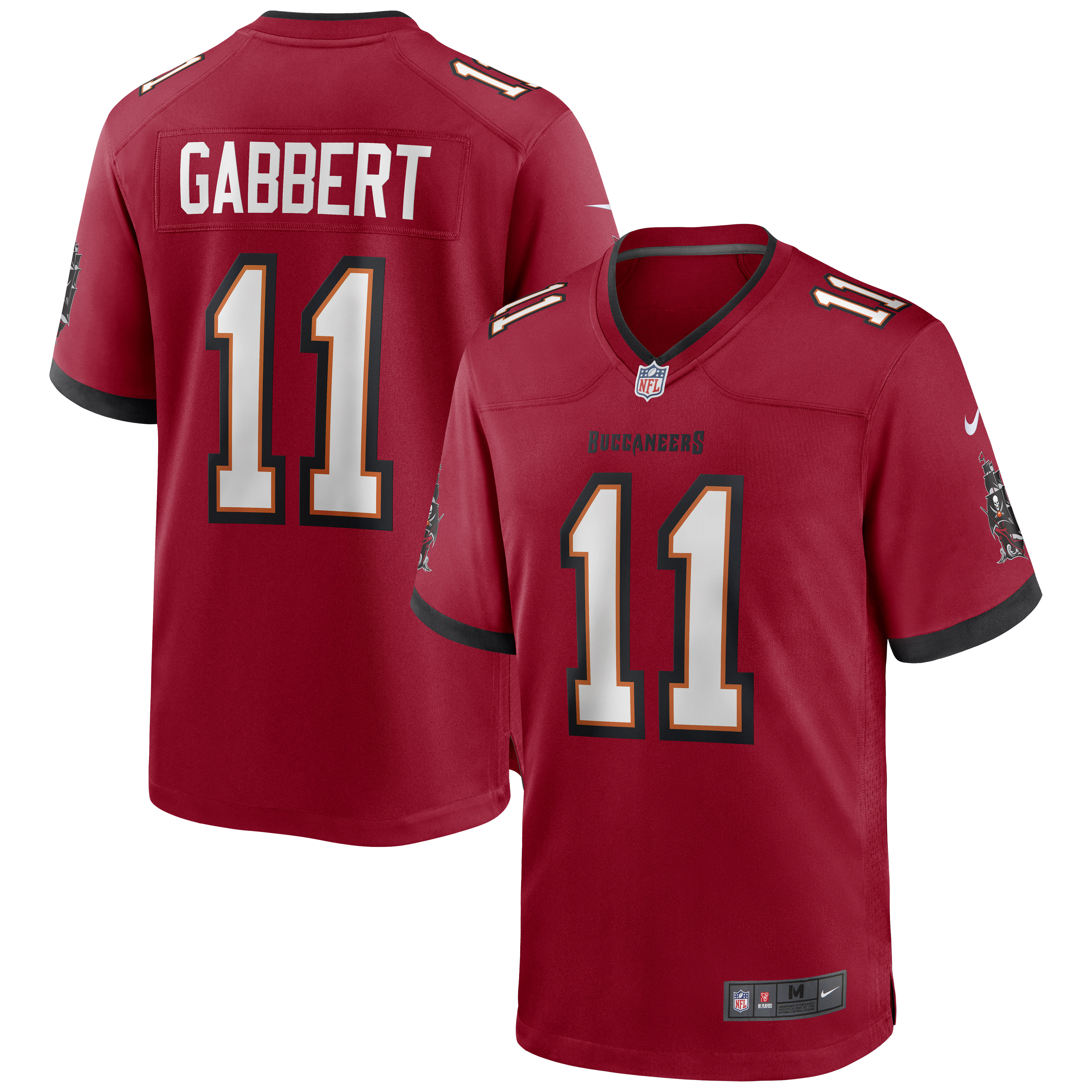 Blaine Gabbert Tampa Bay Buccaneers Nike Game Jersey - Red - Walmart.com