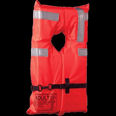 Onyx #100100-200-004-12 Type I Lifejacket, Adult, Commercial