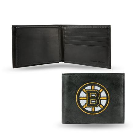 NHL - Men's Boston Bruins Embroidered Billfold Wallet Cardinals Embroidered Billfold