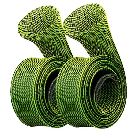 Fishing Tips - EEEKit 2-Pack Expandable Fishing Rod Sleeve Cover Braided Mesh Rod Cover Pole Glover Tip Protector Bag