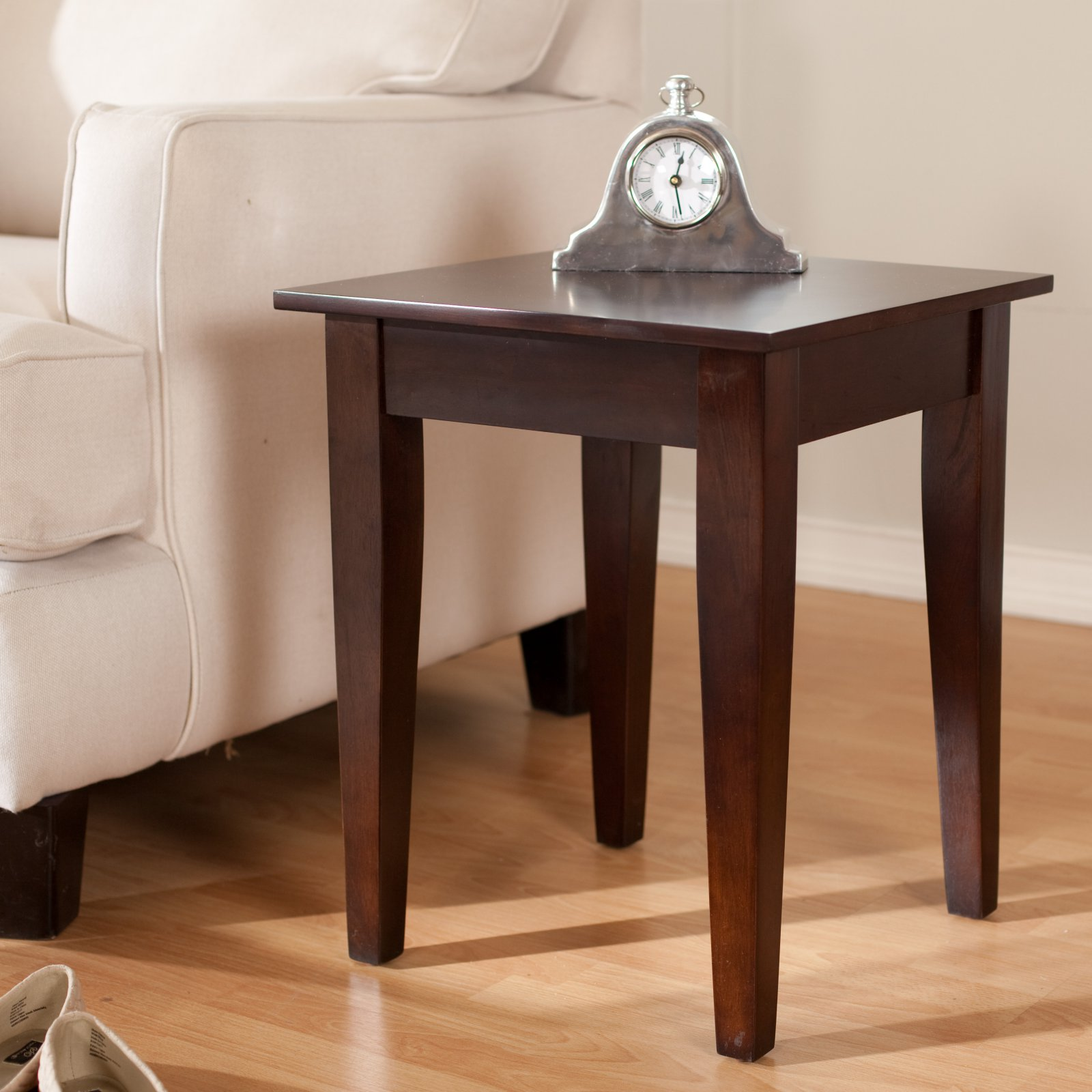 Superior Turner End Table   Espresso
