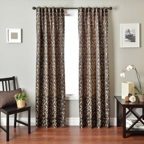 Softline Savannah Back Tab and Rod Pocket Curtain Panel