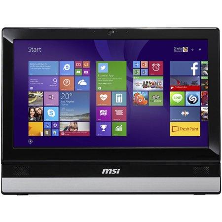 MSI-Black-Silver-Adora20-2BT-009US-All-in-One-Desktop-PC-with-Intel-Celeron-J1900-Quad-Core-Processor-4GB-Memory-19-5-Display-500GB-Hard-Driv